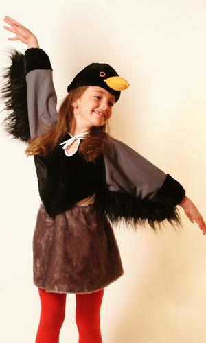Костюм Вороны, карнавальный костюм на девочку - photo#4