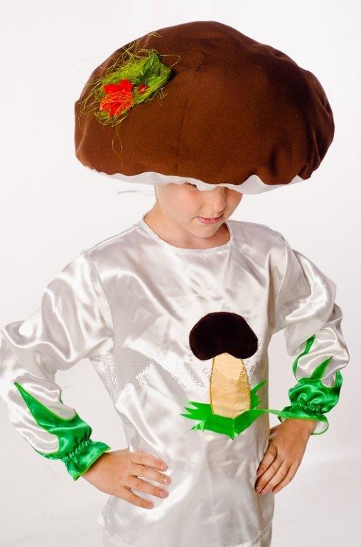 Костюм гриб своими руками